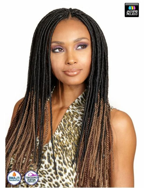 Bobbi Boss Dread Twist Loc Locs Braid Faux Hair 4 M (View 20 of 25)