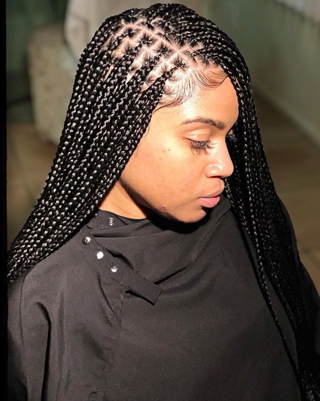 Box Braid Hairstyles | Popsugar Beauty For Most Up To Date Braided Braids Hairstyles (View 19 of 25)