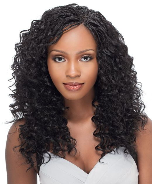 Box Braids Wavy | Get Box Braids Or Wet N Wavy Tree Pertaining To Most Recently Tree Micro Braid Hairstyles (View 16 of 25)