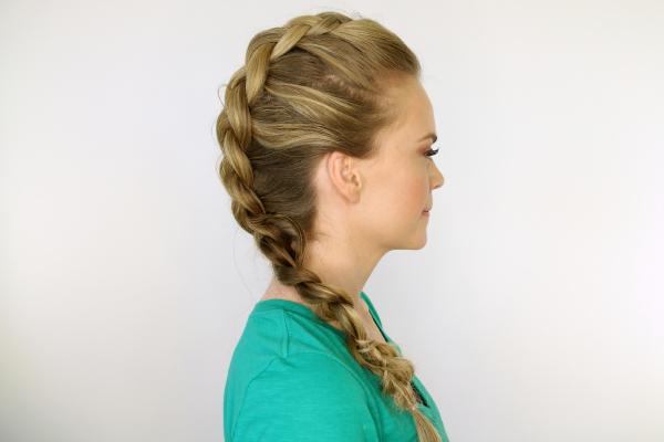 Braid 1 Mohawk Dutch Braid In Most Current Braided Mermaid Mohawk Hairstyles (View 4 of 25)