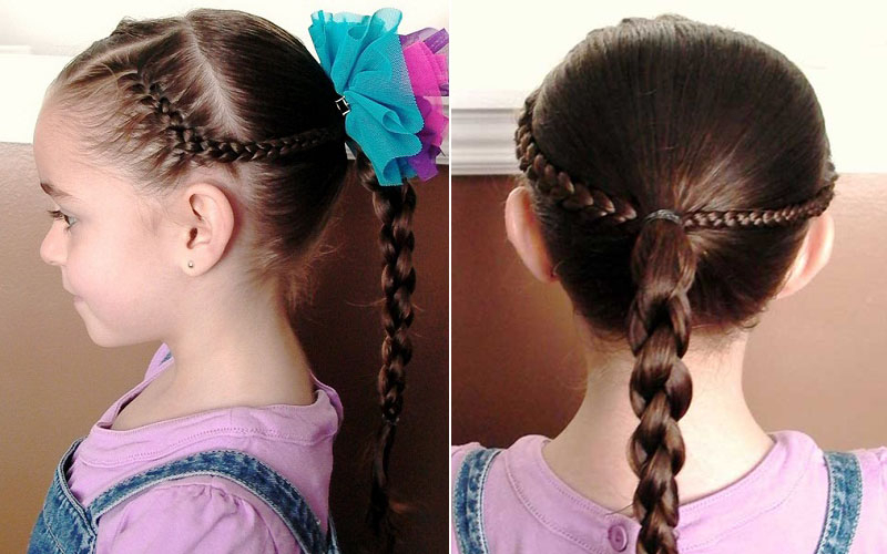 Braid Hairstyles For Kids 2017 To Try On Your Daughter Within Most Current Beaded Pigtails Braided Hairstyles (View 24 of 25)