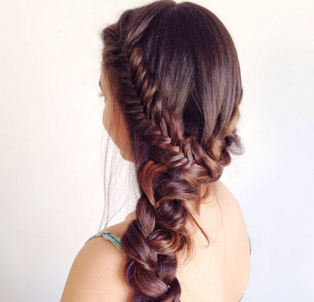 Braid Inception: 20 Ways To Wear Braids In Your Braids Regarding Most Popular Mermaid Inception Braid Hairstyles (View 4 of 25)