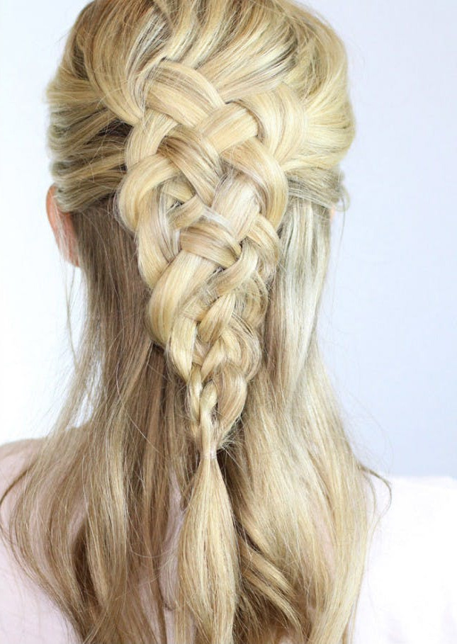 Braid Inception: 20 Ways To Wear Braids In Your Braids Regarding Newest Mermaid Inception Braid Hairstyles (View 12 of 25)