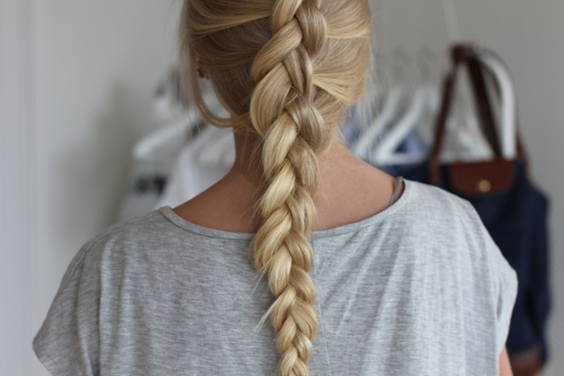 Braided Blonde Hair – My New Hair With Regard To Newest Long Blonde Braid Hairstyles (View 5 of 25)