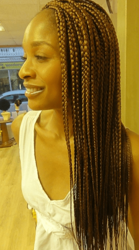 Braided Hairstyles For Black Women Trending 2015 Inside Most Recently Gold Toned Skull Cap Braided Hairstyles (View 23 of 25)