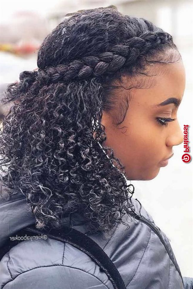 Braided Hairstyles For Curly Hair Picture3 In Latest Naturally Curly Braided Hairstyles (View 5 of 25)