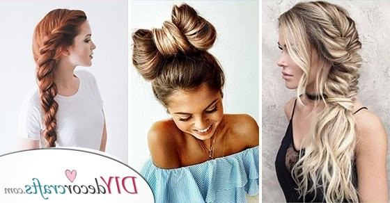 Braided Hairstyles For Long Hair And Easy Braids For Long Hair Throughout Most Current Extravagant Under Braid Hairstyles (View 10 of 25)