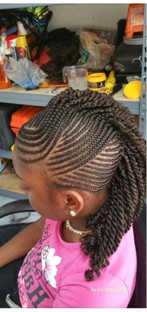 Braided Mohawk Hairstyles With Weave Throughout Most Popular Braided Mermaid Mohawk Hairstyles (View 15 of 25)