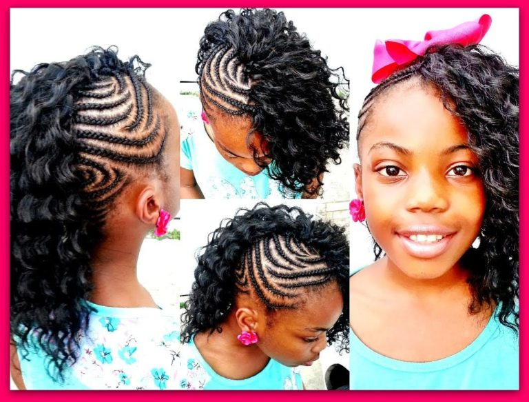 Braids For Kids: Black Girls Braided Hairstyle Ideas In Pertaining To Most Current Black Twisted Mohawk Braid Hairstyles (View 23 of 25)