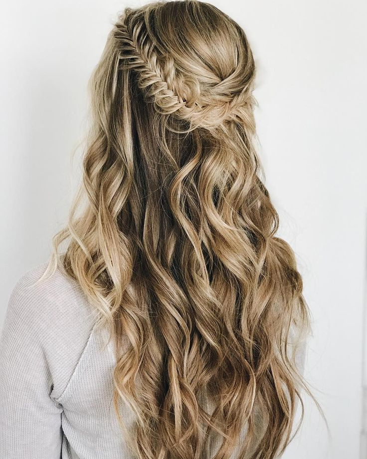 Braids Half Up Half Down Hairstyle , Boho Hairstyle ,updo Inside Latest Half Up, Half Down Braided Hairstyles (View 16 of 25)