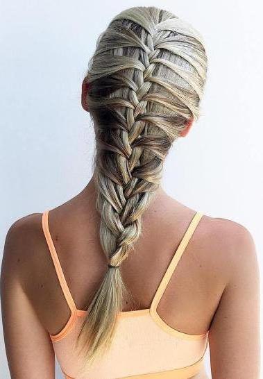 Brilliant Mermaid Braid Hairstyles   Hair Trends   Braids In For 2018 Braided Mermaid Mohawk Hairstyles (View 3 of 25)
