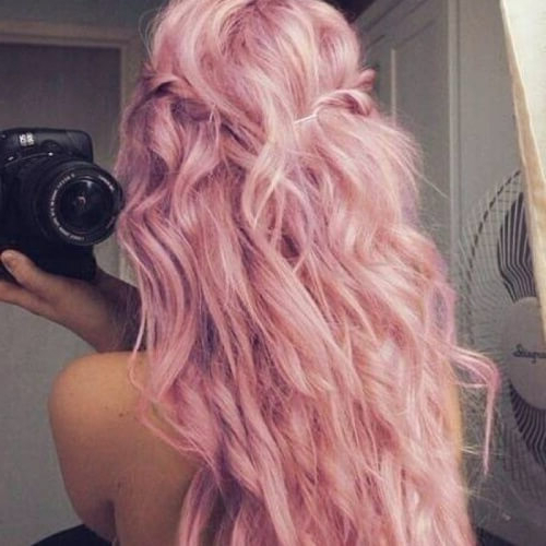 Channel Your Inner Ariel With These 50 Mermaid Hair Color regarding Newest Cotton Candy Colors Blend Mermaid Braid Hairstyles