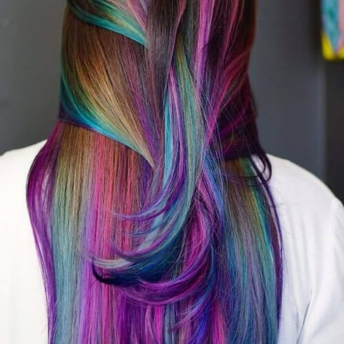 Channel Your Inner Ariel With These 50 Mermaid Hair Color with 2018 Cotton Candy Colors Blend Mermaid Braid Hairstyles