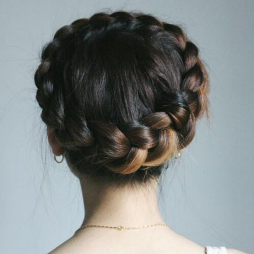 Channel Your Inner Fairy With These 50 Crown Braid Styles With Regard To Most Recent Tight Braided Hairstyles With Headband (View 24 of 25)