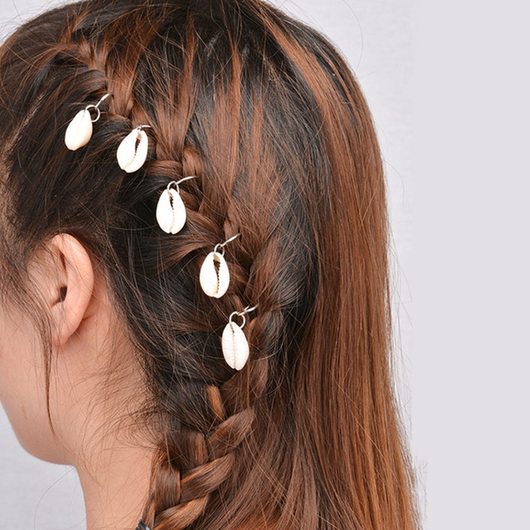 China White Cowrie, China White Cowrie Manufacturers And Regarding Newest Puka Shell Beaded Braided Hairstyles (View 22 of 25)