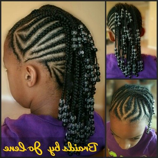 Featured Photo of Mohawk Braided Hairstyles With Beads
