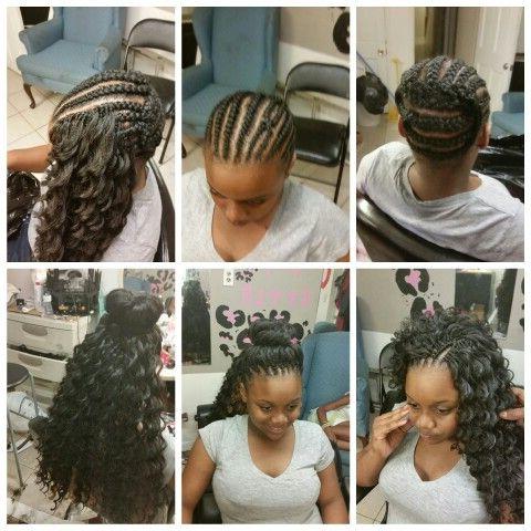 Crochet Braids Kima Hair | Hairstyles | Crochet Braids With Regard To Recent Curly Crochet Micro Braid Hairstyles (View 3 of 25)