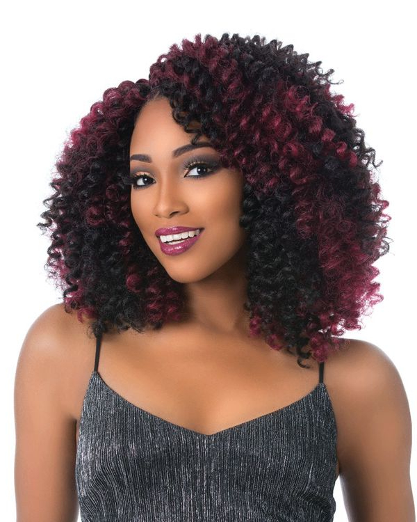 Crochet Hairstyles: Crochet Braids Styles Ideas (Trending In Regarding Most Recently Curly Crochet Micro Braid Hairstyles (View 15 of 25)