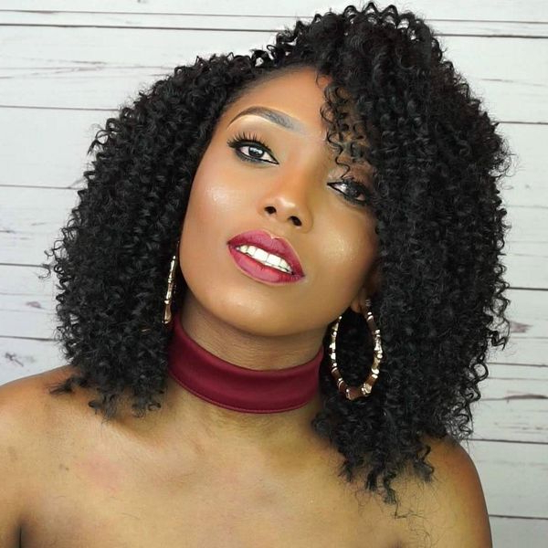 Crochet Hairstyles: Crochet Braids Styles Ideas (Trending In with regard to Most Recently Curly Crochet Micro Braid Hairstyles