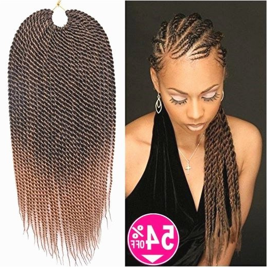 Crochet Micro Braids Hairstyles Beautiful Crochet Senegalese throughout Most Up-to-Date Twists Micro Braid Hairstyles With Curls