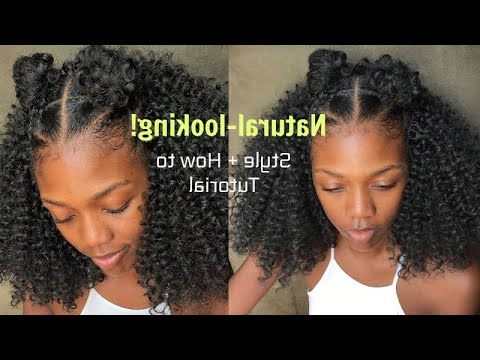Curly Crochet Braids (Natural-Looking)|How To And Style Tutorial for Current Naturally Curly Braided Hairstyles