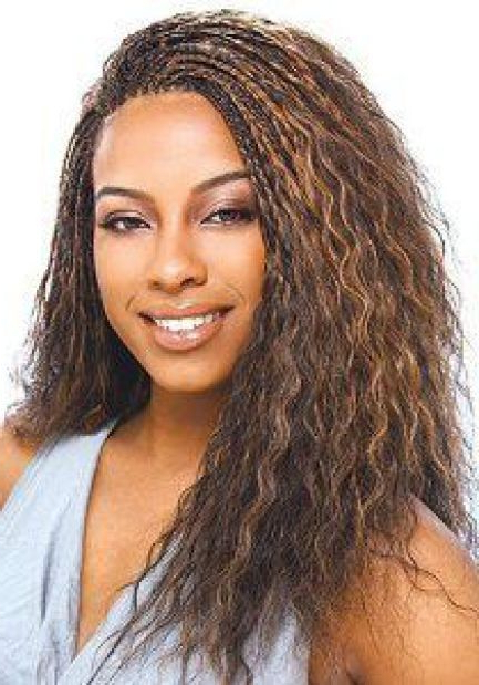 Curly Micro Braids, Micro Braids Hairstyles For Black Women within Recent Sleek And Long Micro Braid Hairstyles