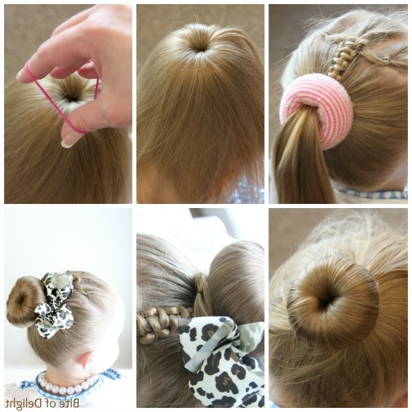 Cute Bun Hairstyles For Girls – Our Top 5 Picks For School In Most Popular Braided Ballerina Bun Hairstyles (View 17 of 25)