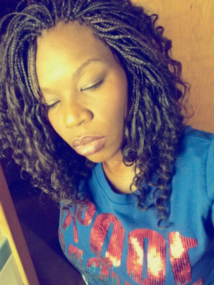Deep Wave Micro Braids | Chocolate Diamond In 2019 | Micro with Best and Newest Crochet Micro Braid Hairstyles Into Waves