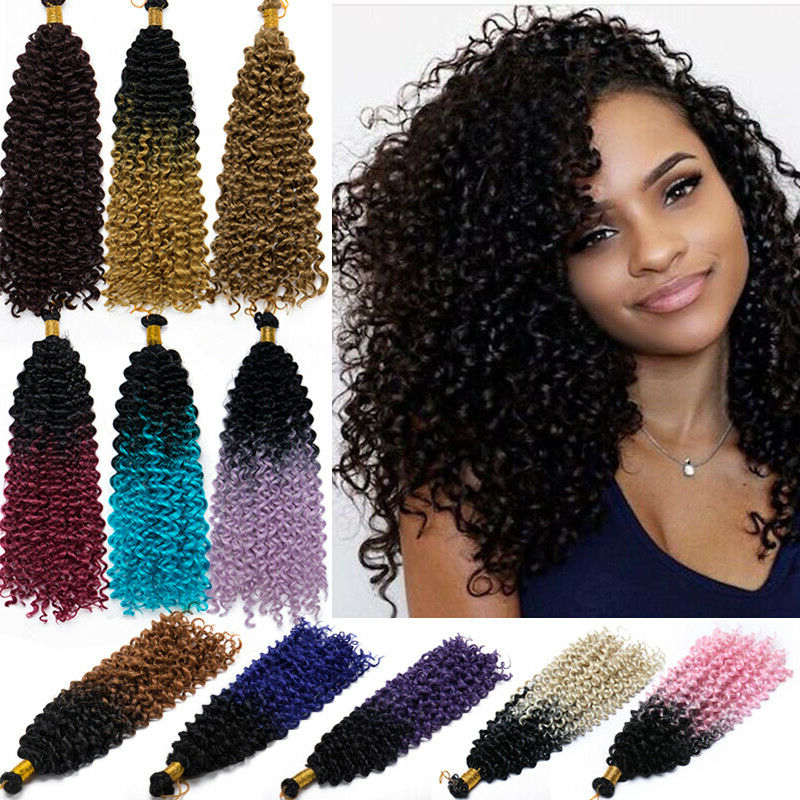 Details About Uk Synthetic Weaving Marley Bob Kinky Curly Hair Extensions Twist Braids Wavy Y2 For Best And Newest Wavy Bob Hairstyles With Twists (View 19 of 25)