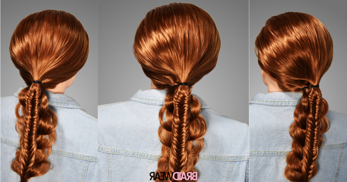 Diy: Fishtail Braid Combination In 8 Easy Steps – Braidwear throughout Most Recently Rope And Fishtail Braid Hairstyles