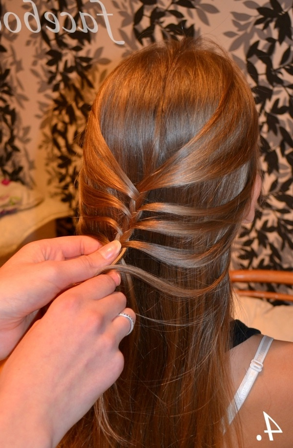 Diy-Fishtail-Braid-Mermaid-Braid-Hairstyle-4 - Cool Creativities throughout Current Mermaid Braid Hairstyles With A Fishtail
