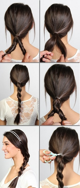 Diy Pinterest Hairstyles Debunked! throughout Most Up-to-Date Casual Rope Braid Hairstyles