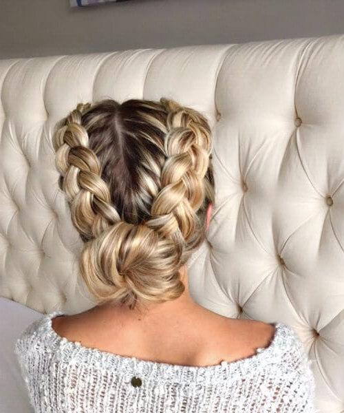 Do It Like The French: 45 Impressive French Braid Hairstyles with Most Up-to-Date Nostalgic Knotted Mermaid Braid Hairstyles