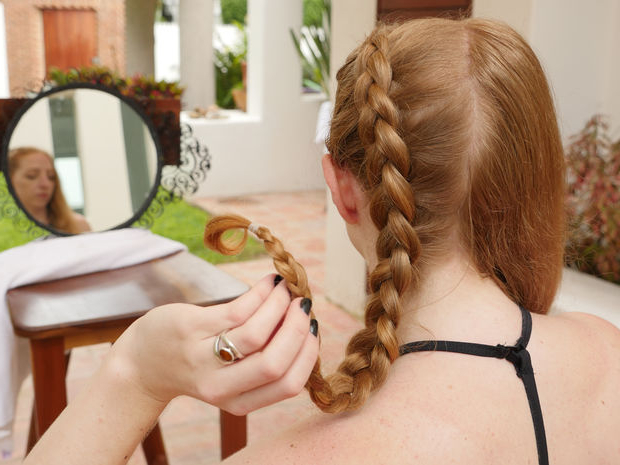 Double Dutch Braid: 7 Steps (With Pictures) for Best and Newest Double Rapunzel Side Rope Braid Hairstyles