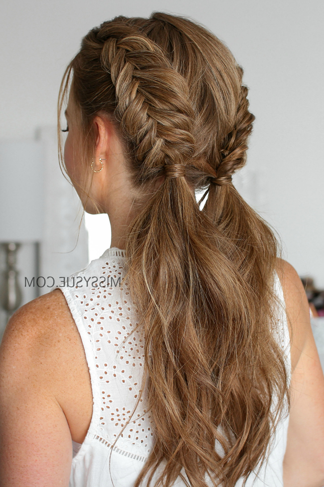 Double Dutch Fishtail Braids | Missy Sue regarding Most Popular Nostalgic Knotted Mermaid Braid Hairstyles