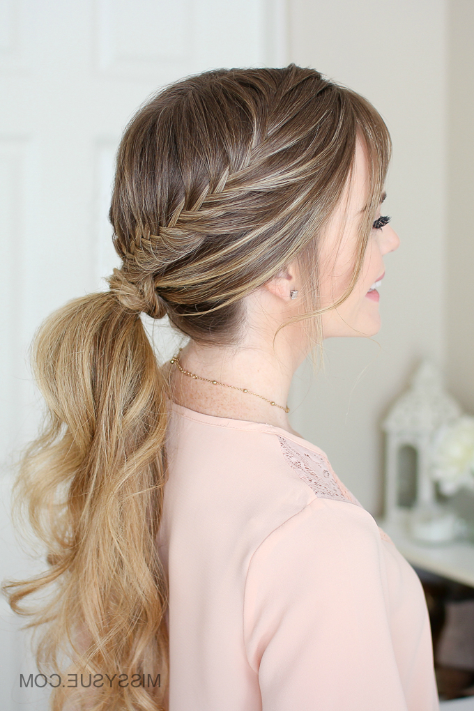 Featured Photo of Wrapping Fishtail Braided Hairstyles