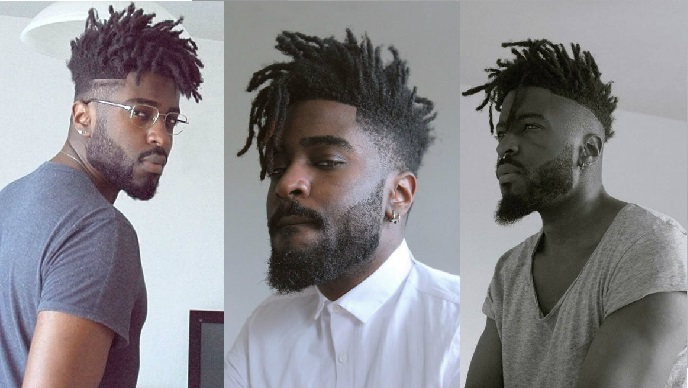 Dread With Short Hair: 5 Simple Ways To To Do – Atoz Hairstyles Pertaining To Current Tightly Coiled Gray Dreads Bun Hairstyles (View 6 of 25)