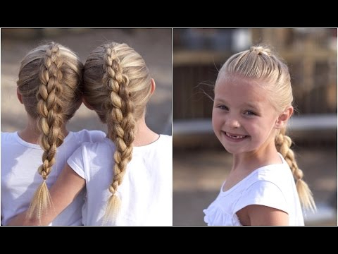 Dutch 3D Braid   Hairstyles For Sports With Regard To Most Popular 3D Mermaid Plait Braid Hairstyles (View 20 of 25)