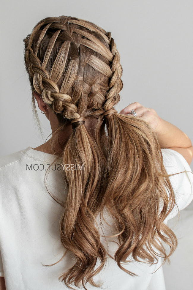 Dutch Braid Archives | Missy Sue throughout Most Up-to-Date Nostalgic Knotted Mermaid Braid Hairstyles