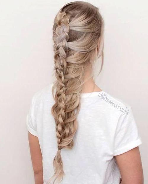 Dutch Mermaid Braid #braidedhairstyles | Braided Hairstyles regarding Current Nostalgic Knotted Mermaid Braid Hairstyles