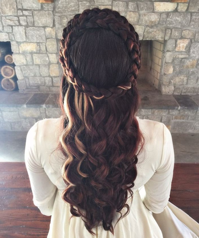 ?1001 + Ideas For Stunning Medieval And Renaissance Within Recent Medieval Crown Braided Hairstyles (View 5 of 25)