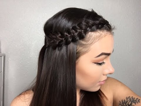 Easy Braided Hairstyles To Get Bangs Out Of Face! In Newest Braid Hairstyles With Braiding Bangs (View 3 of 25)