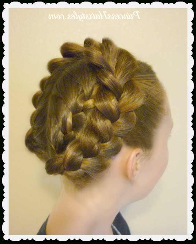 Easy Halo Or Crown Braid Tutorial | Hairstyles For Girls Intended For Most Recently Voluminous Halo Braided Hairstyles (View 9 of 25)