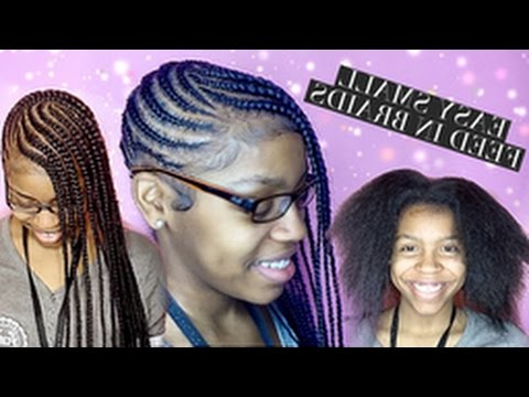 Easy Small Feed In Braids For Beginners With Current Diamond Goddess Lemonade Braided Hairstyles (View 23 of 25)