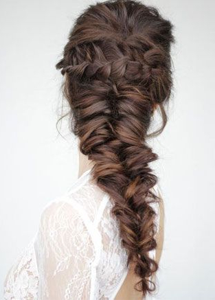 Easy Steps To Gorgeous Mermaid Hairstyle In 2019 With Most Up To Date Mermaid'S Hairpiece Braid Hairstyles (View 2 of 25)