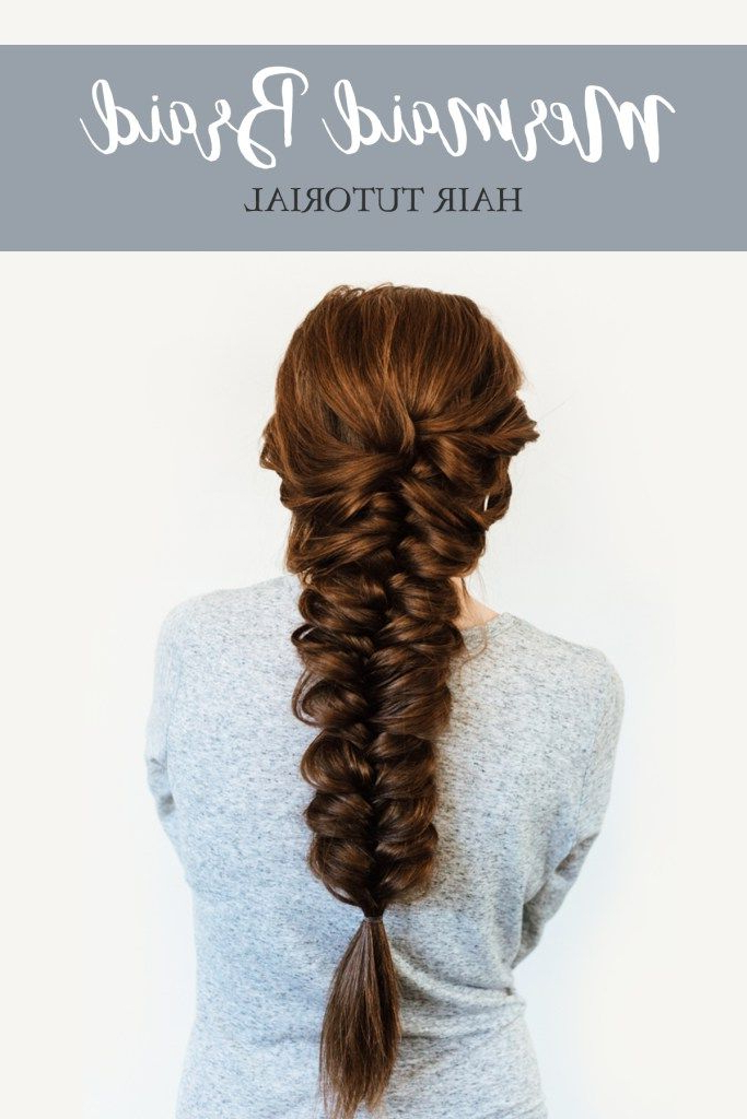 Easy Update To Three Strand Braiding! #easybraid With 2018 Mermaid Inception Braid Hairstyles (View 14 of 25)