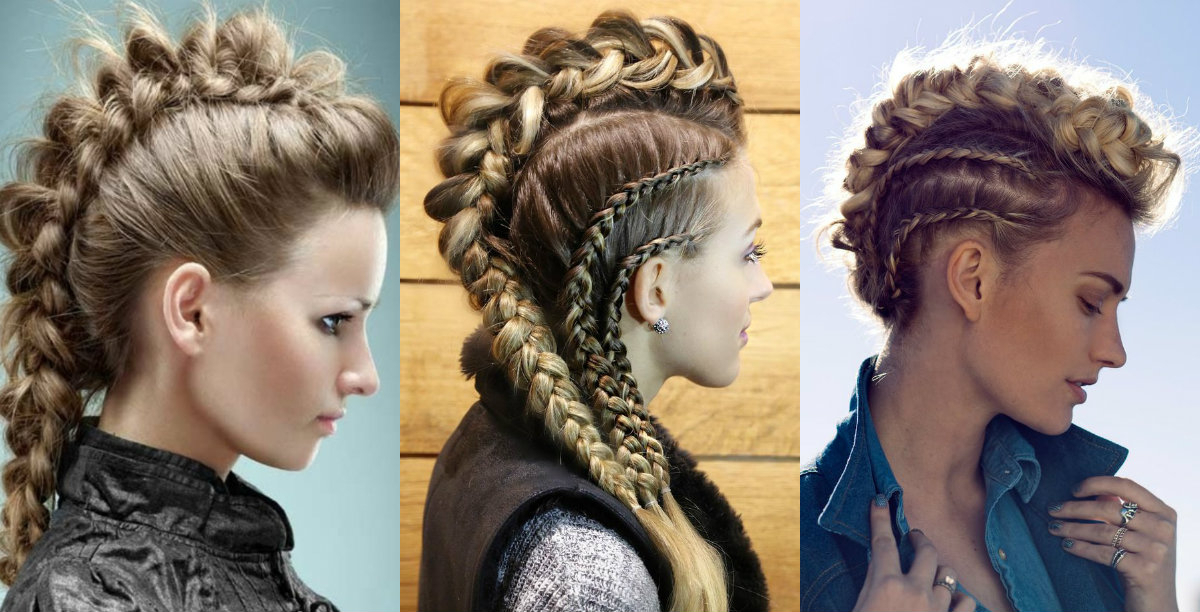 Emotion & Romance In Fishtail Braids   Hairstyles, Haircuts Regarding Best And Newest Braided Mermaid Mohawk Hairstyles (View 7 of 25)