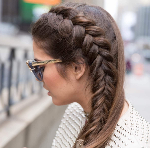 Fabulous Fishtail Twisted Side Braid Hairstyles 2017 2018 In Most Current Twisted Mermaid Braid Hairstyles (View 22 of 25)