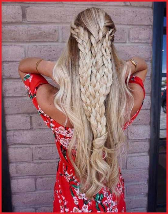 Fabulous Trends Of Long Braided Hairstyles For Blonde Hair In Most Recent Long Blonde Braid Hairstyles (View 11 of 25)