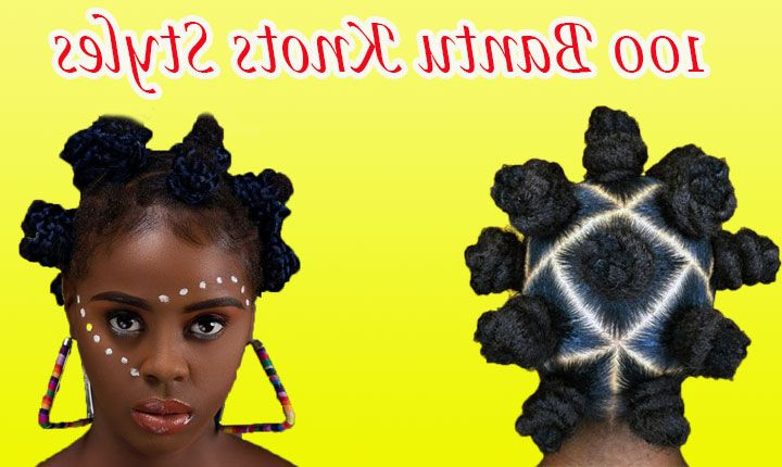Fall In Love With Bantu Knots [How To + 100 Pictures in Current Bantu Knots And Beads Hairstyles